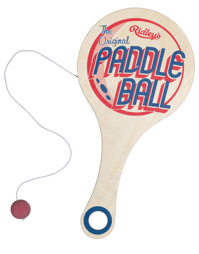 Paddle Ball Game RIDLEY'S Vintage Retro Toy.