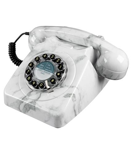 746 Retro Sixties British Retro Marble Telephone