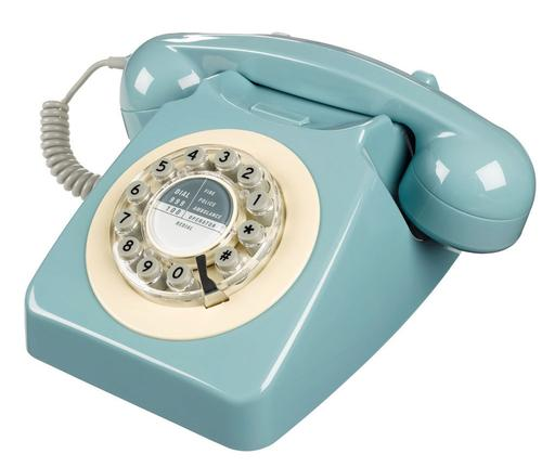 RETRO PHONE MOD TELEPHONE VINTAGE SIXTIES GPO 60s