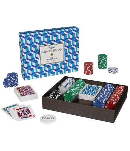 Ridley's Retro Gamesroom Texas Hold Em Poker Set