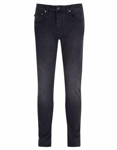 Rui LUKE 1977 Retro Skinny Fit Black Denim Jeans