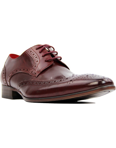 sergio duletti vito brogue shoes Wine