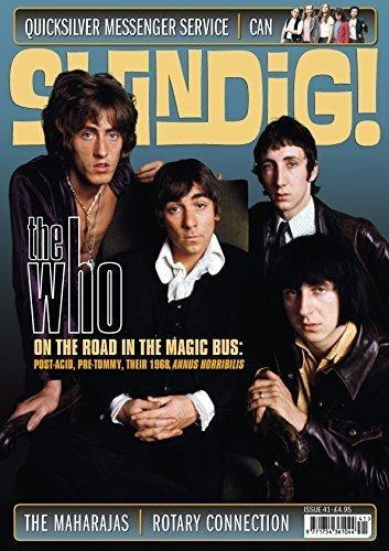 SHINDIG MAGAZINE MUSIC SIXTIES THE WHO ISSUE 41