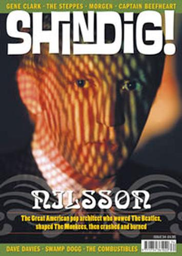 +'SHINDIG!' MAGAZINE - Issue 34 Feat Harry Nilsson