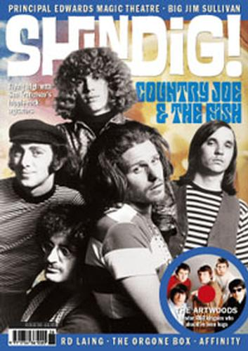 + 'SHINDIG!' MAGAZINE - Issue 36 Feat Country Joe