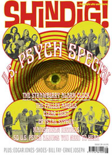 SHINDIG MAGAZINE US PSYCH SPECIAL 60s MOD MUSIC