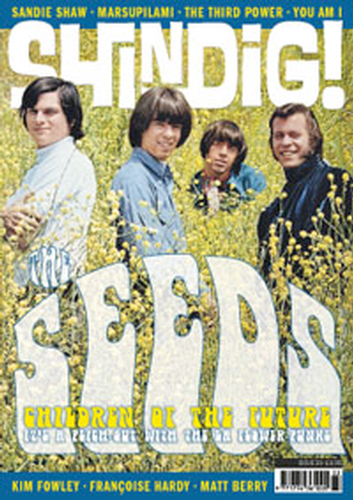 + 'SHINDIG!' MAGAZINE - Issue 33 Feat The Seeds