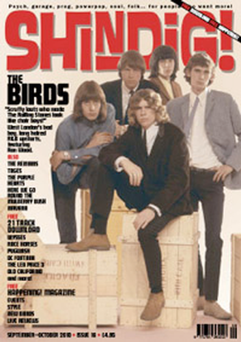 SHINGDIG MAGAZINE BIRDS 60S MUSIC MAGAZINE