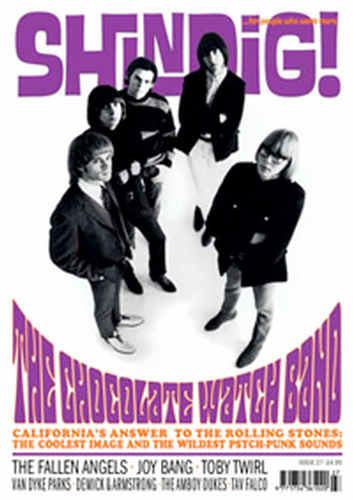 + 'SHINDIG!' MAGAZINE Issue 27 Chocolate Watchband