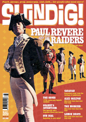SHINGDIG MAGAZINE PAUL REVERE 60S MUSIC MAGAZINE