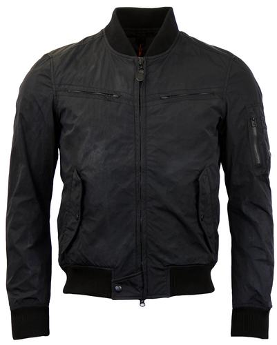 SPIEWAK RETRO MOD FLIGHT JACKET BLACK