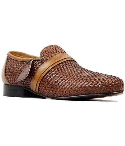 delicious junction steve ellis mod weave shoes tan