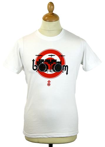 STOMP DRUM MOD TARGET RETRO HEAT REACTIVE T-SHIRT