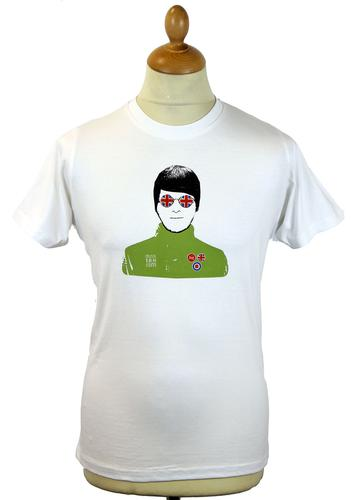 STOMP BRITPOP ICON RETRO MOD HEAT REACTIVE T-SHIRT