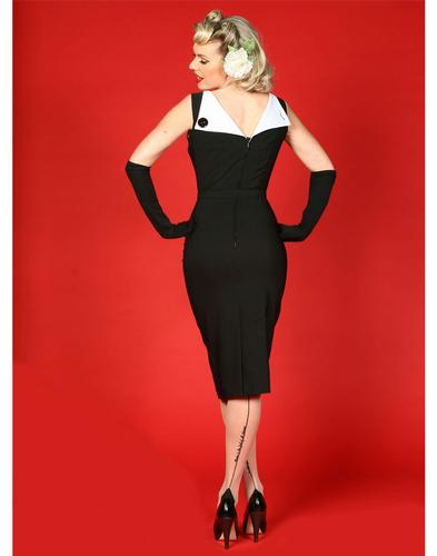 TATYANA RETRO VINTAGE 50s JAZMIN PENCIL DRESS
