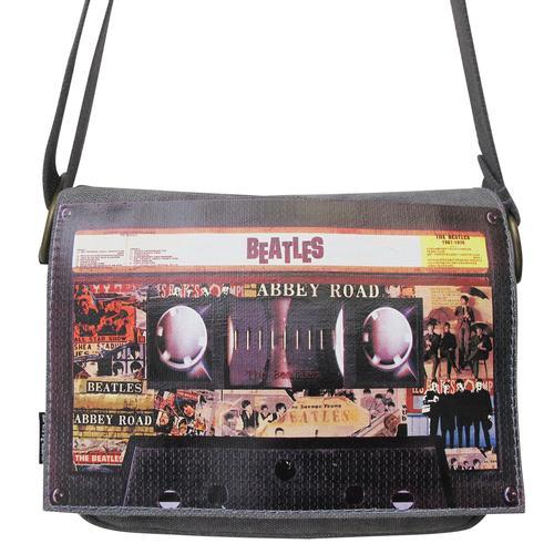 BEATLES RETRO BAGS TOUR TAPE MINI BAG