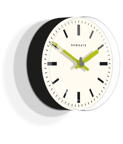 NEWGATE CLOCKS RETRO 60s MOD TIMEPILL WALL CLOCK