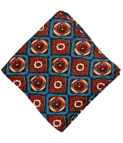 TOOTAL SCARF RETRO MOSAIC POCKET SQUARE