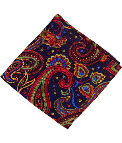 TOOTAL SCARF RETRO PAISLEY POCKET SQUARE
