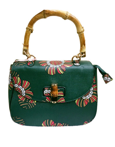 Traffic People Retro 70s Handbag saddle bag