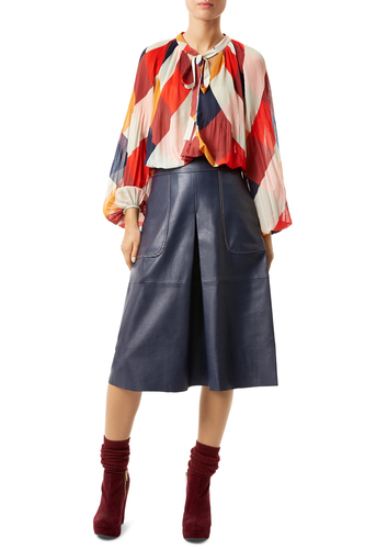 Traffic People Retro 70s Boho McGraw Skirt