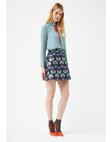 Traffic People Retro Mod 60s A-Line Skirt
