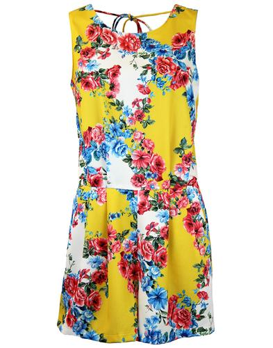 Sass and Sunshine TRAFFIC PEOPLE Retro Playsuit