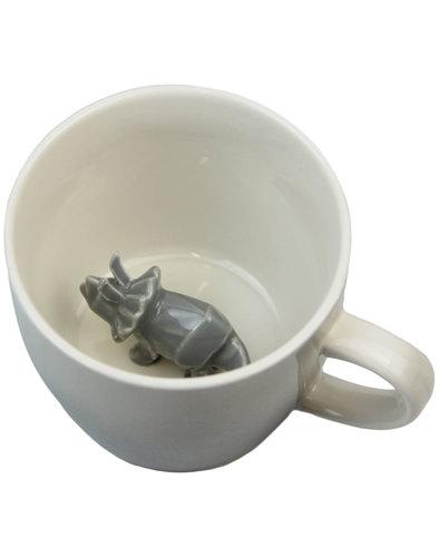 disaster designs retro triceratops dinosaur cup
