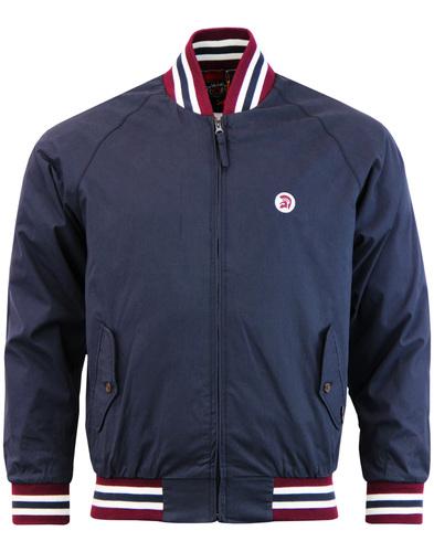 trojan bomber jacket navy mod