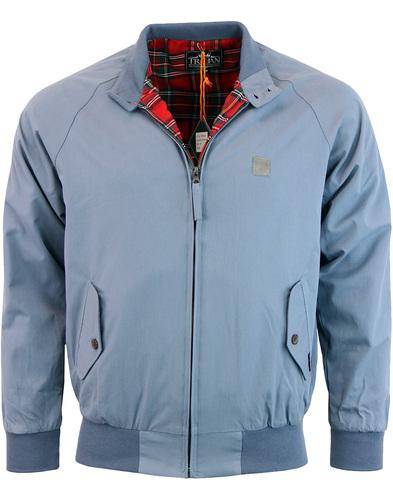 trojan records harrington jacket airforce blue