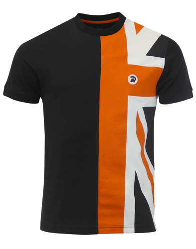 trojan t-shirt black/orange mod