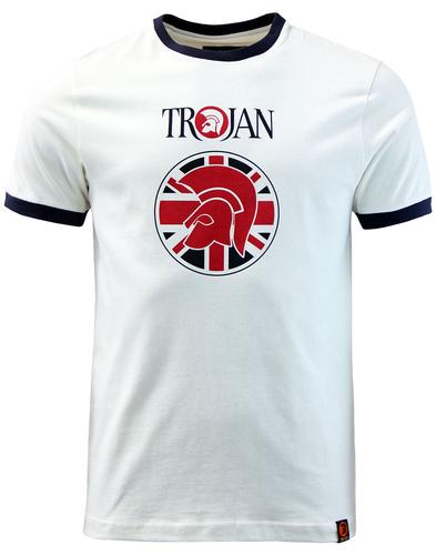 TROJAN RECORDS Retro Union Jacket Helmet Logo Tee