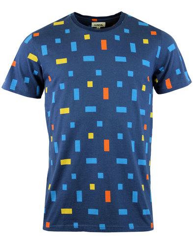 Corb TUKTUK Retro 70s Colour Block Crew T-shirt