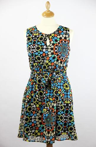 TULLE RETRO MOD INDIE PARTY DRESS