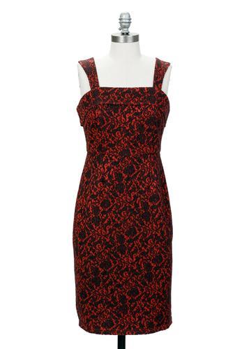 TULLE Retro 1960s Vintage Wiggle Dress