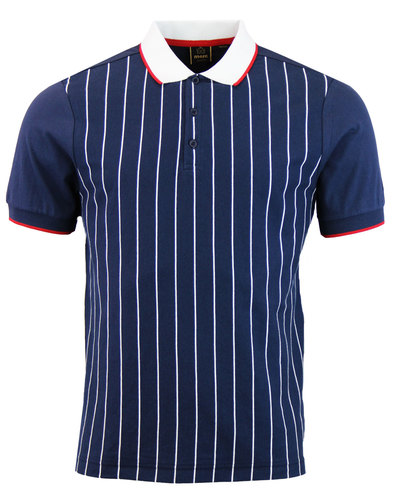 tyson vertical strip tshirt vertical stripe navy
