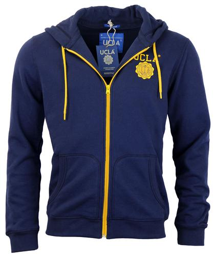 UCLA RETRO 50s SEVENTIES HOODED HOODIE