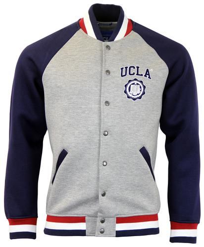 UCLA RETRO 50s BASEBALL TRACK TOP
