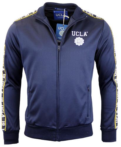 UCLA RETRO MOD 70s TAPED TRACK TOP JACKET