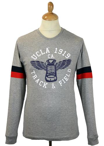 Tyler UCLA Retro 70s L/S Stripe Sleeve T-Shirt