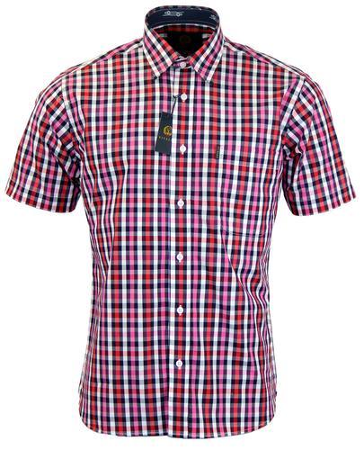 VIYELLA Retro Mod Button Down Bold Check Shirt (M)