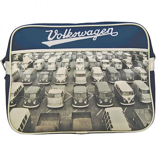 RETRO 70s VOLKSWAGEN CAMPER VAN CAR PARK BAG