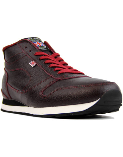 walsh challenger retro made in england boots bordo