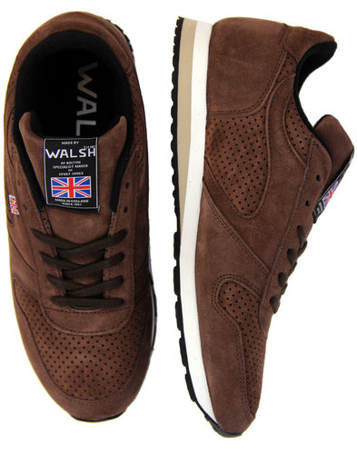 walsh seoul 88 retro mens made in england trainers