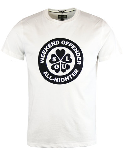 weekend offender mod northern soul all nighter tee