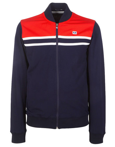 Farnell WEEKEND OFFENDER Retro Indie Trackie Top