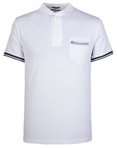 Kir Royal WEEKEND OFFENDER Standing Collar Polo W