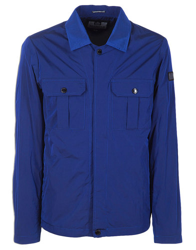 Modernista WEEKEND OFFENDER Mod Shirt-Jacket Blue