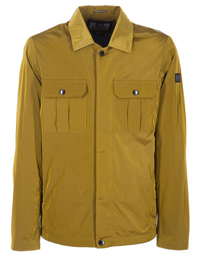 Modernista WEEKEND OFFENDER Mod Shirt-Jacket Ochre