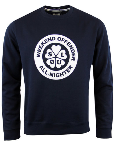 weekend offender polyglots all nighter sweatshirt